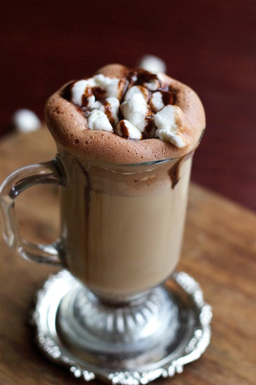 10 Fabulous Coffee Recipes- Nutella Hazelnut Coffee