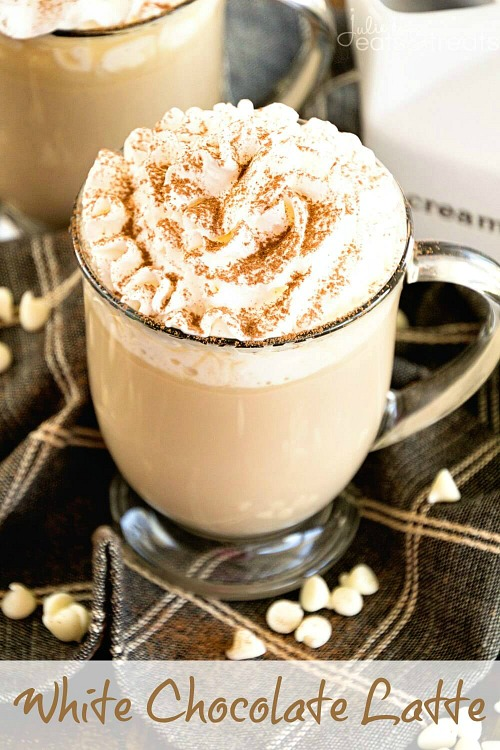 10 Fabulous Coffee Recipes- White Chocolate Latte