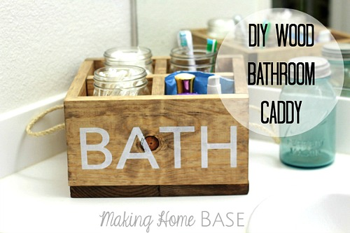 6 Space-Saving DIY Bathroom Storage Ideas