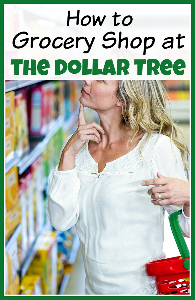 How to Grocery Shop at the Dollar Tree