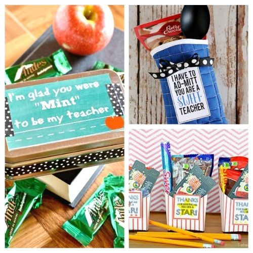 12 Brilliant Back To School DIY Teacher Gifts- If you want to thank your kids' teachers at the end of the school year or start the year off with a nice present, then you have to make one of these DIY gifts for teachers! | #DIYgift #homemadeGift #backToSchool #teacherGifts #ACultivatedNest