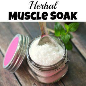 Herbal Muscle Soak