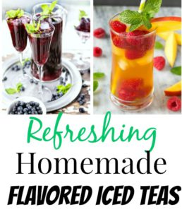 10 Refreshing Flavored Ice Tea Recipes
