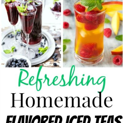 10 Homemade Flavored Ice Tea Recipes