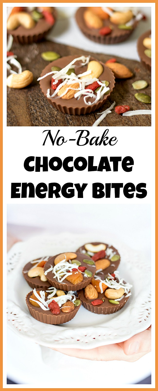 Want to make an easy, delicious snack that will give you a quick burst of energy? Then you have to make these no-bake chocolate energy bites!