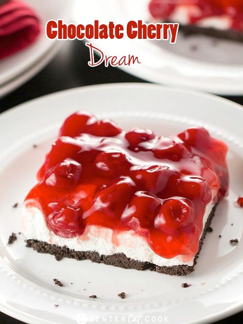 10 Scrumptious No-Bake Desserts- Chocolate Cherry Dream