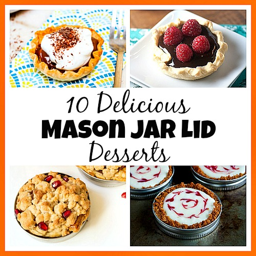 If you've never tried making Mason jar lid desserts, then you're missing out! They're delicious, and the perfect size for party treats!