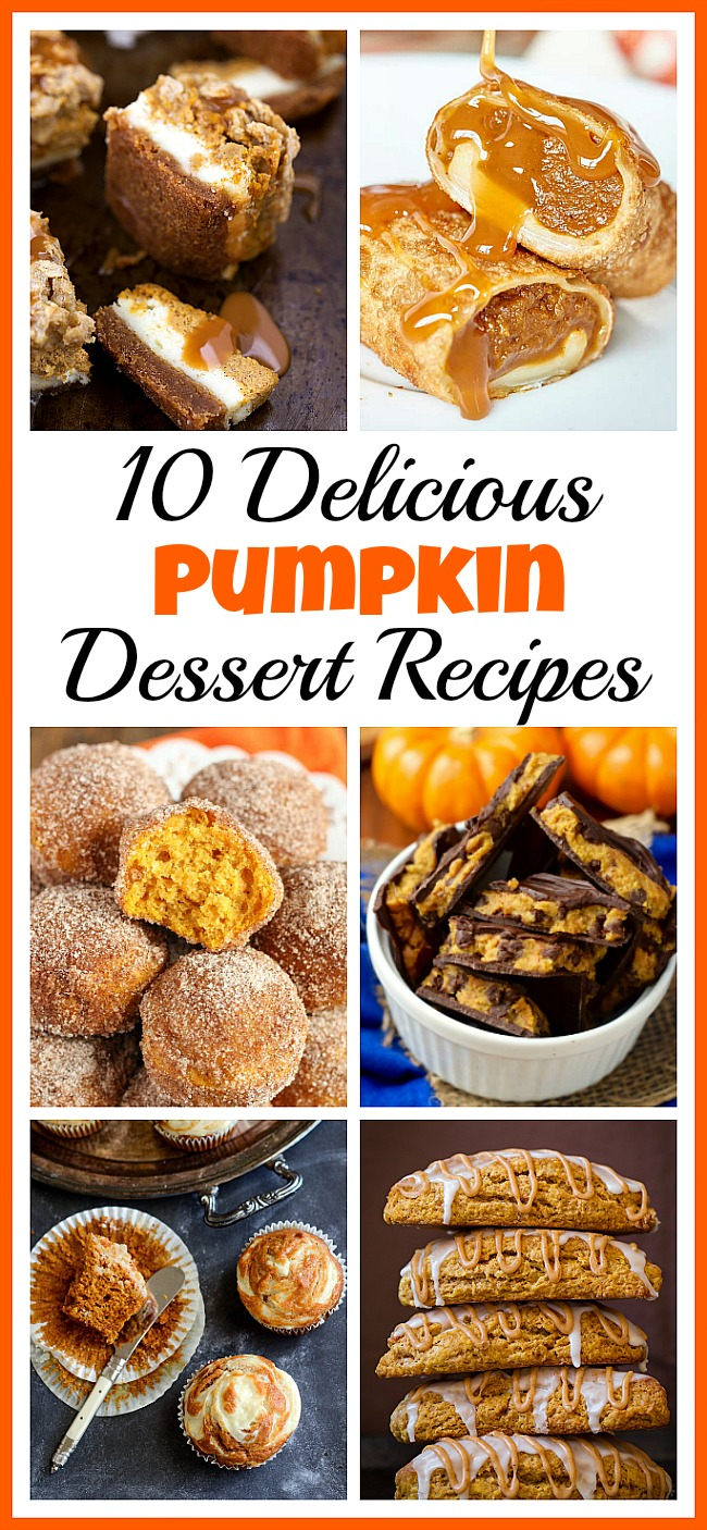 Not only are pumpkins full of healthy nutrients, but they're also really tasty! This fall, you have to try some of these pumpkin dessert recipes!