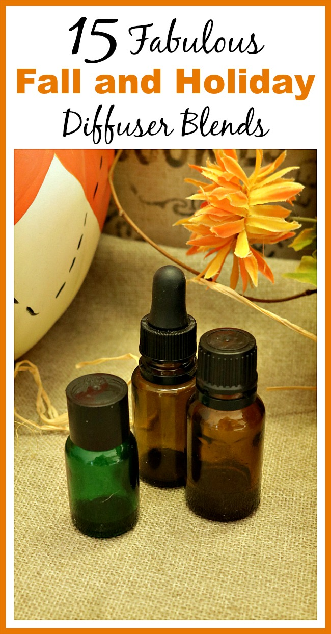 15 Fabulous Fall and Holiday Diffuser Blends