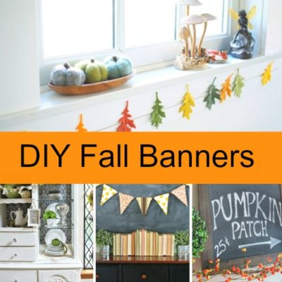 DIY Fall Banners