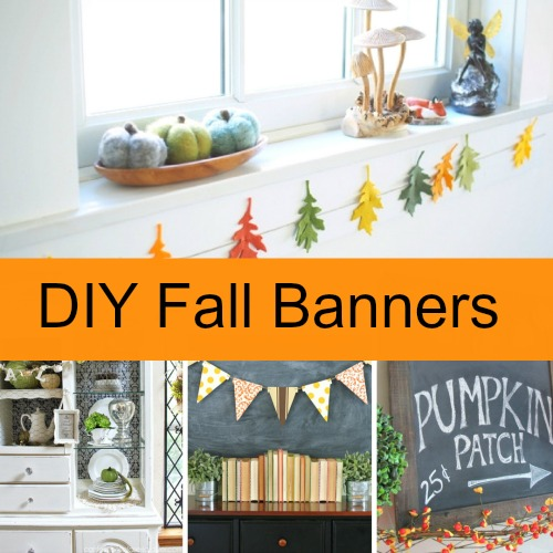 DIY Fall Garlands - This year I decided to add some DIY Fall Garlands to my home. I found so many beautiful ideas from around the web that I can't wait to share them with you! From washi tape garlands, leaf garlands, mini pumpkin garlands, crochet garlands and more, these garlands will add a festive flair to your home!