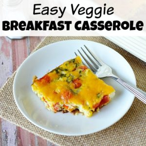 Easy Veggie Breakfast Casserole
