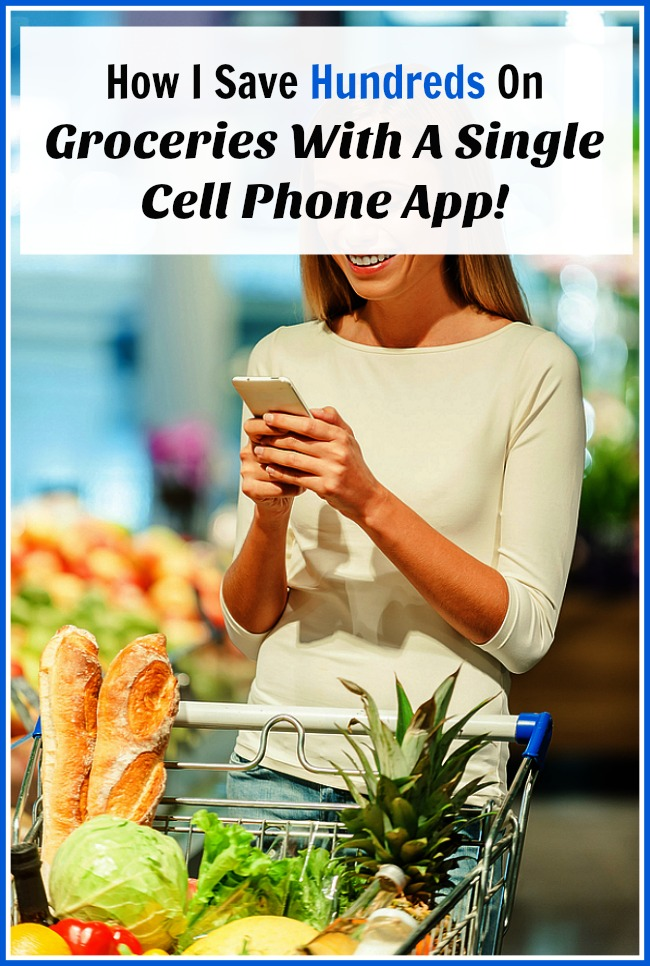 How I Save Hundreds On Groceries With A Single Cell Phone App