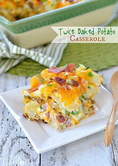 10 Old Fashioned Frugal Recipes from Grandma- Twice Baked Potato Casserole. If you want to save money, then you should try to reduce your grocery budget. To do this easily, start eating some of these old fashioned frugal recipes!