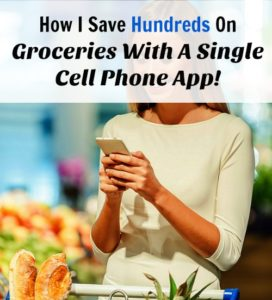 How I Save Hundreds on Groceries with a Single Smartphone App!