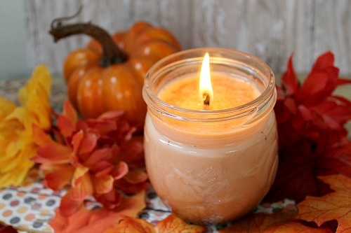 Image result for pumpkin spice candles