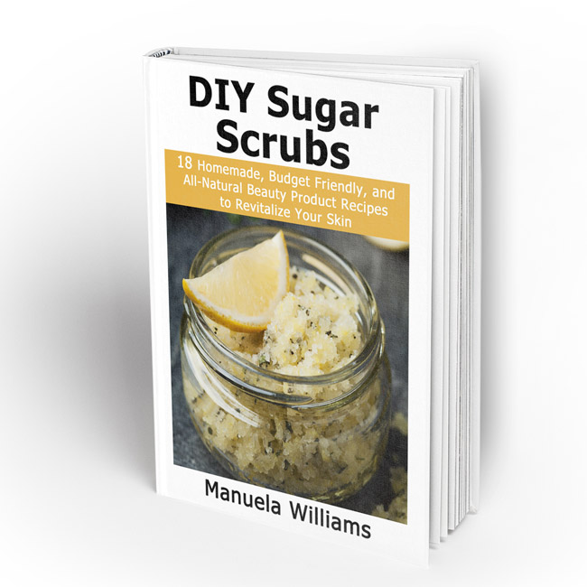 DIY Sugar Scrubs eBook- Finding all-natural and affordable beauty products in stores can be difficult. So why not make your own? Making your own DIY sugar scrubs is both easy and inexpensive, and they make wonderful homemade gifts!