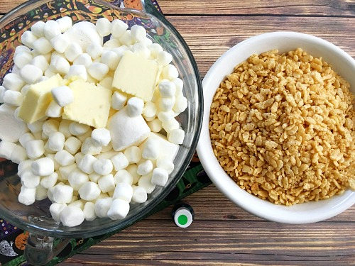 How to make rice krispies treats from scratch