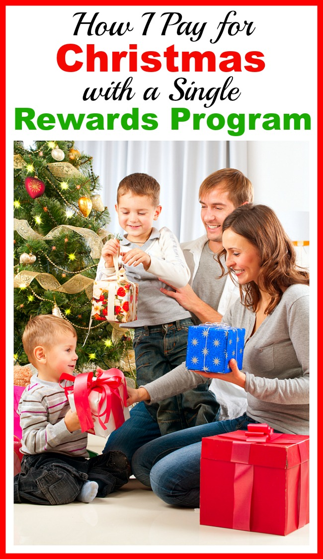 How I Pay for Christmas with a Single Rewards Program