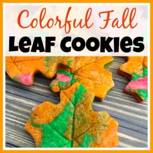 How to Make Colorful Fall Leaf Cookies