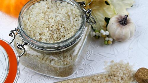 Pumpkin Vanilla Bath Salts