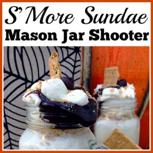 S'More Sundae Mason Jar Shooter