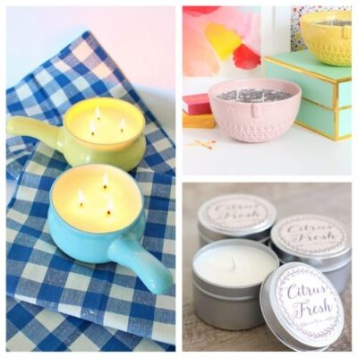 20 Beautiful DIY Candle Tutorials