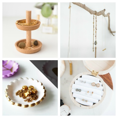 20 DIY Jewelry Organization Ideas- If you want to finally get your jewelry organized, then you need to try some of these DIY jewelry organizers! They're easy to make, and super helpful! | how to make your own jewelry organizers, clever ways to organize your jewelry, organizing tips, organizing ideas, #organizing #DIY #organization #jewelry #diyProject #necklaces #rings #bracelets #ACultivatedNest