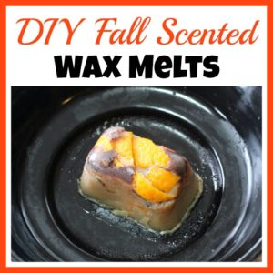 DIY Fall Scented Wax Melts