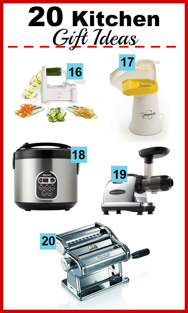 20 Kitchen Gift Ideas  Looking For The Perfect Gift For The Busy Home Cooks  In