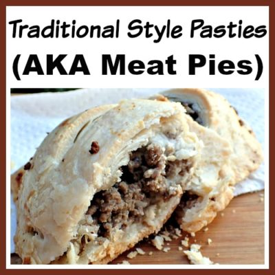 Traditional Style Pasties (Meat Pies)