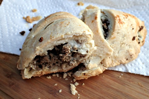 Meat, potatoes, and spices come together in these pasties (AKA meat pies) to create a handheld meal perfect for a cool fall day, or meals for on the go!