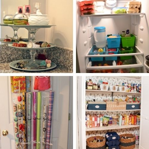 DIY Dollar Store Organization Solutions- If you want to organize your home on a budget, then you'll love these DIY dollar store organization solutions! | #homeOrganization #organizingTips #organize #dollarStoreOrganization #ACultivatedNest