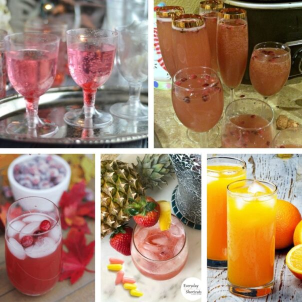 25 Delicious DIY Mocktails for New Year's Eve- Have a fun, family-friendly New Year's Eve party with some of these delicious New Year's Eve mocktail recipes! | homemade drink, New Year's drink, non-alcoholic drink, kid-friendly, New Year's Eve, #nonAlcoholic #mocktail #homemadeDrinks #NewYears #ACultivatedNest