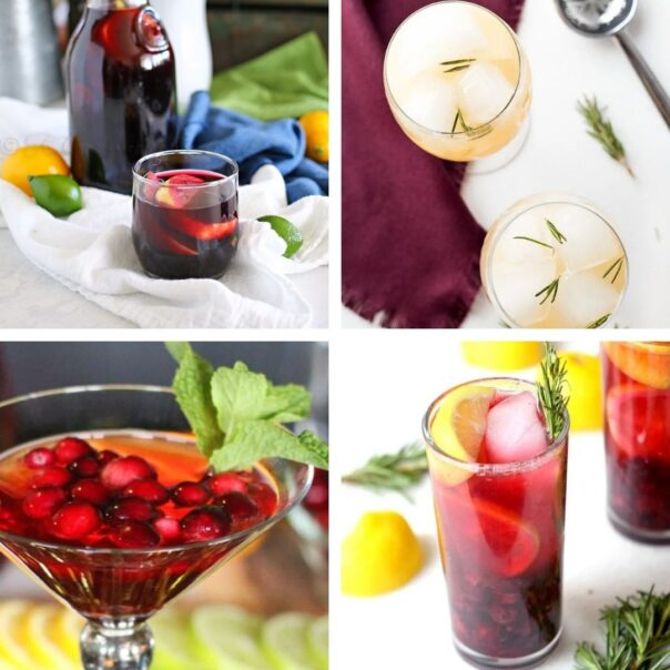 25 Delicious New Year's Eve Alcohol-free Drinks- Have a fun, family-friendly New Year's Eve party with some of these delicious New Year's Eve mocktail recipes! | homemade drink, New Year's drink, non-alcoholic drink, kid-friendly, New Year's Eve, #nonAlcoholic #mocktail #homemadeDrinks #NewYears #ACultivatedNest
