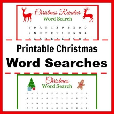 Free Printable Christmas Word Searches for Kids (and Adults!)