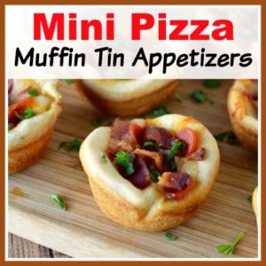 Mini Pizza Muffin Tin Appetizers