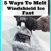 5 Ways To Melt Windshield Ice Fast