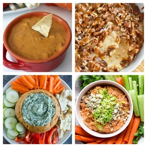 21 Crowd-Pleasing Dip Recipes - Ensure you have a great party by starting it off with one of these crowd-pleasing dip recipes! There are so many to choose from! #ACultivatedNest