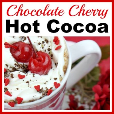 Chocolate Cherry Hot Cocoa