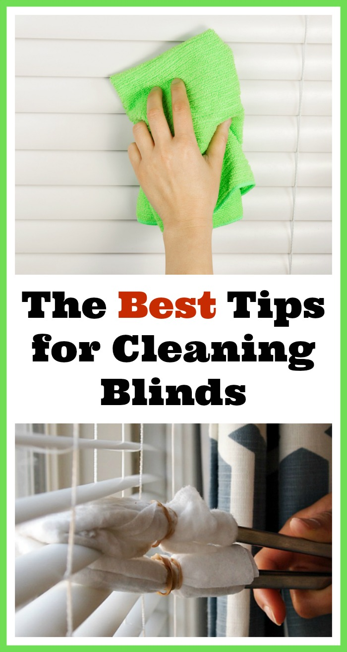 Easy To Clean Blinds.Tips For How To Clean Your Window Blinds