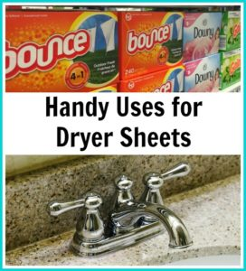 Handy Uses for Dryer Sheets