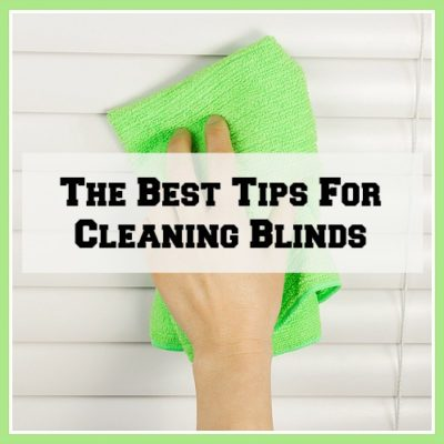 Best tips for cleaning blinds