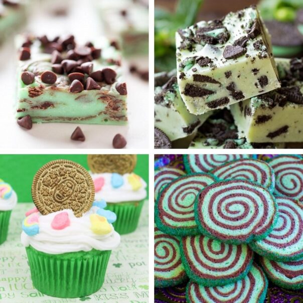 16 Delicious Alcohol Free St. Patrick's Day Foods for Kids- This St. Patrick's Day, treat your kids to some tasty alcohol-free desserts with fun green coloring! Check out these great St. Patrick's Day recipes for inspiration! | #StPatricksDay #SaintPatricksDay #greenDesserts #dessertRecipes #ACultivatedNest