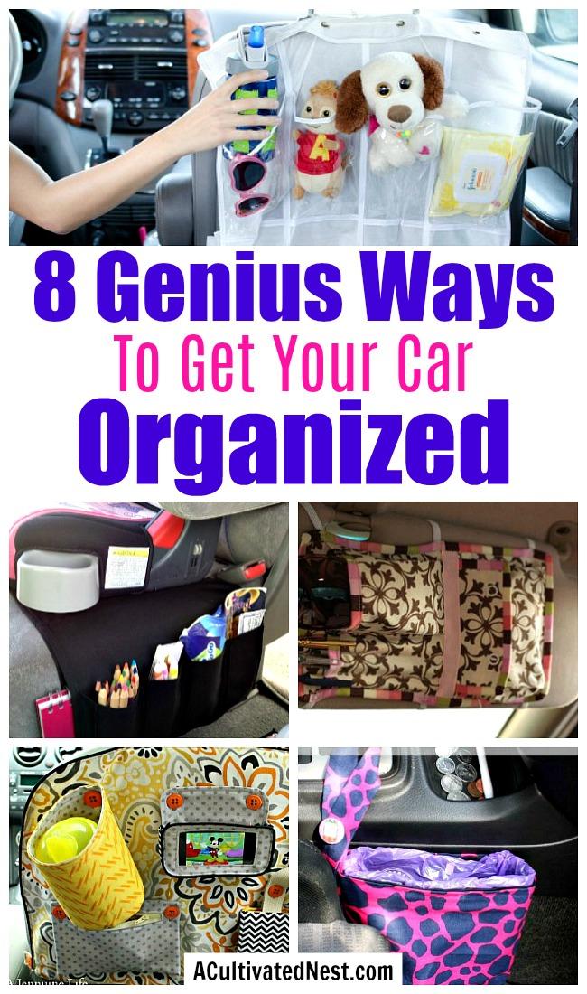 8 Clever Car Organization Ideas