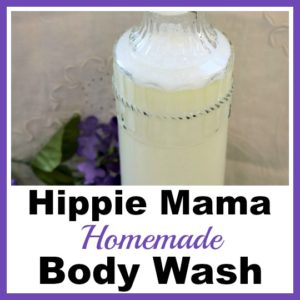 Hippie Mama Homemade Body Wash