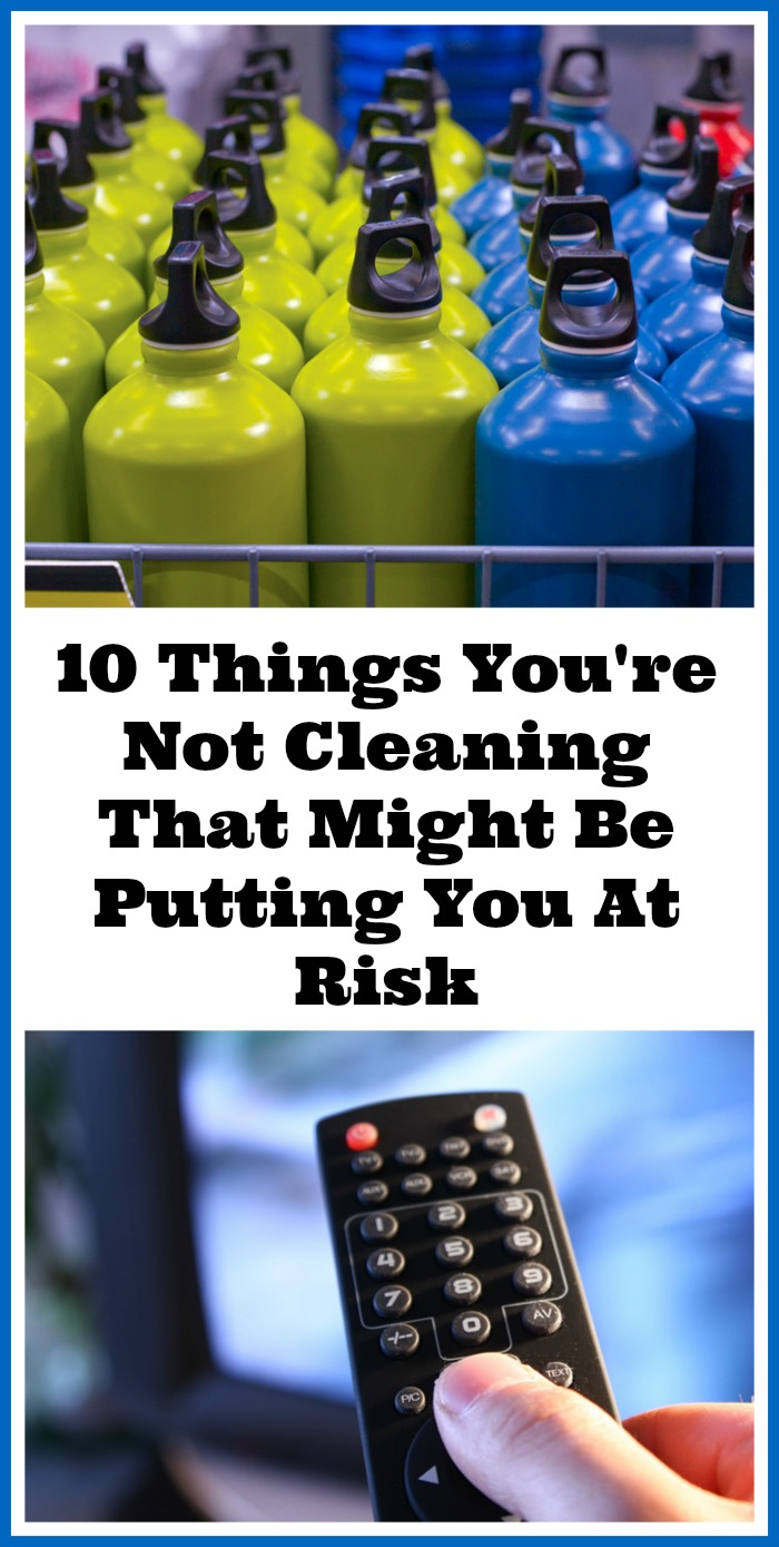 10 Things You're Not Cleaning That Might Be Putting You At Risk - Cleaning your home is actually about much more than just maintaining your home's aesthetic appeal! Cleaning things in your home keeps you safe & healthy! If you're forgetting to clean certain things, you may be putting yourself in a potentially dangerous situation ( to be a bit dramatic)! Here are 10 Things You're Not Cleaning But Should! | Cleaning tips | deep cleaning | home organization | homemaking