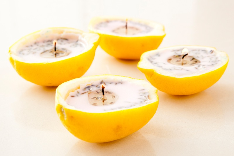 Lemon Lavender Candle Air Fresheners - These simple DIY Air fresheners are inexpensive to make and will leave your home smelling great in no time!