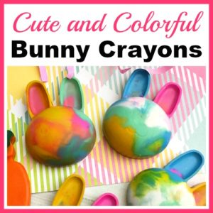 Cute and Colorful DIY Bunny Crayons