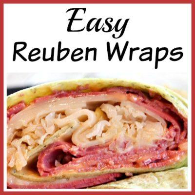 Reuben Wraps